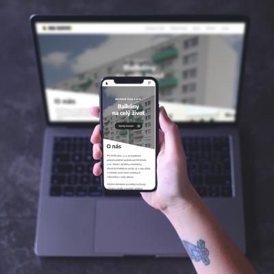 Návrh webstránky MS Kovo Topoľčany