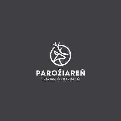 Grafický návrh loga Parožiareň kaviareň